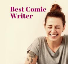 Blogfest Blogging Awards 2016 Best Comic Writer
