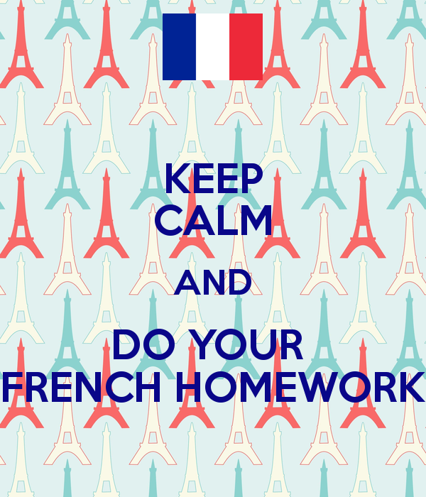 Do my french homework / Homework construction services llc