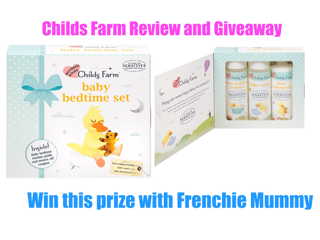 Childs Farm baby products review & giveaway