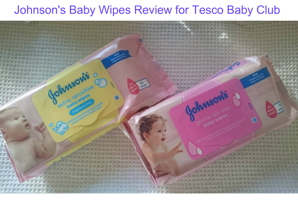 Johnson's Baby Wipes review